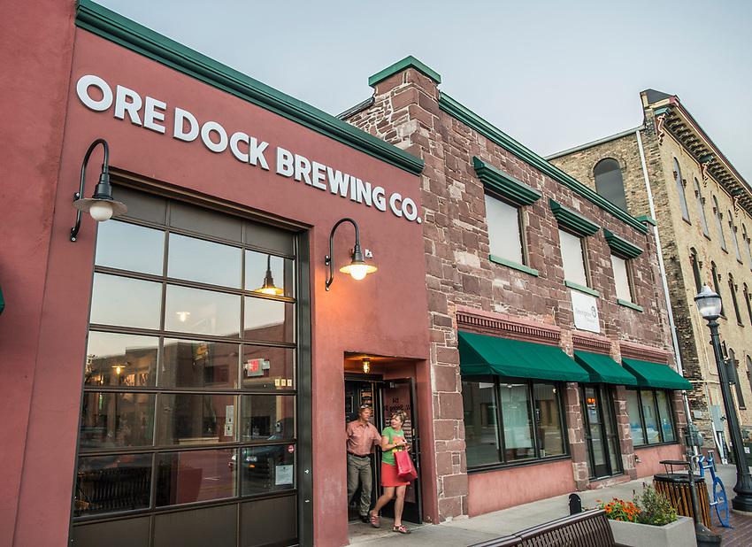 Ore Dock Brewing Company, Marquette, Michigan.