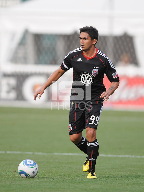 DC United forward Jaime Moreno (99)  DC United defeated Real Salt Lake 2-1 to advance to the round of 16 of the  U.S. Open Cup at RFK Stadium, Wednesday  June 2  2010.