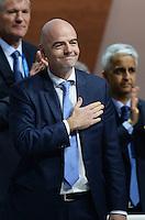 26-02-2016 Zurigo Football FIFA; Gianni Infantino (SUI) is elected new FIFA President at the FIFA congress in Zurich<br /> (Steffen Schmidt/freshfocus/Insidefoto)