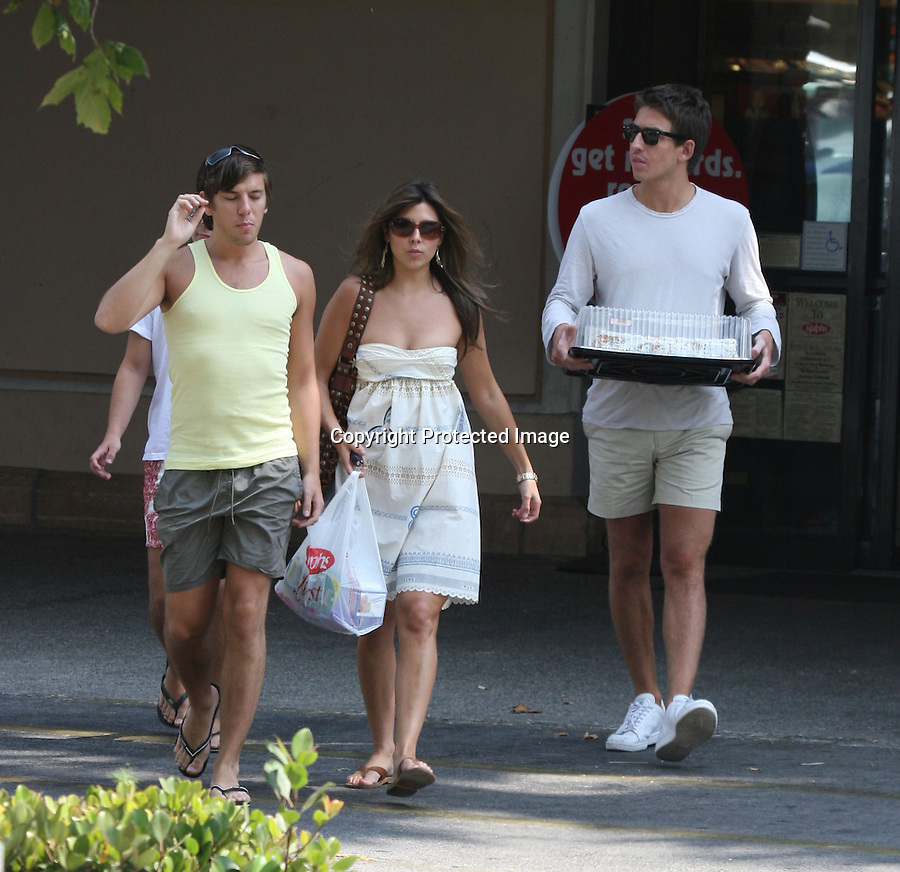 July 17th 2008 Exclusive.Jamie Lynn Sigler leaving the Ralphs super market in Malibu. They picked up a birthday cake and some candy. ..www.AbilityFilms.com.805-427-2519.AbilityFilms@yahoo.com
