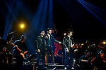 CORAL GABLES, FL - MARCH 05: Ignazio Boschetto, Gianluca Ginoble and Piero Barone of IL Volvo performs at Bank United Center on Saturday March 05, 2016 in Miami, Florida. ( Photo by Johnny Louis / jlnphotography.com )