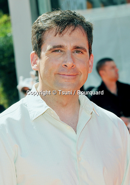 Steve Carrell<br /> Horton Hears A Who ! Premiere at the Westwood Theatre In Los Angeles.<br /> <br /> headshot<br /> eye contact