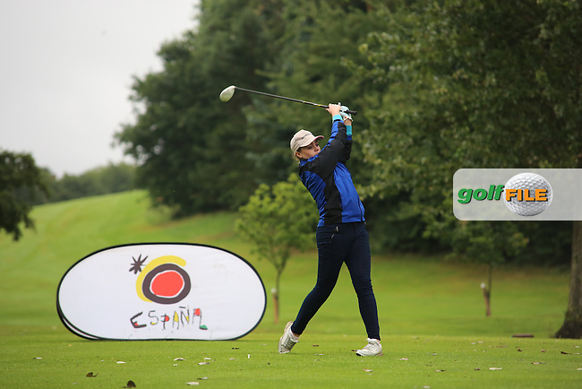 Lisa Patton (Strabane) during the Ulster Mixed Foursomes Final, Shandon Park Golf Club, Belfast. 19/08/2016<br /> <br /> Picture Jenny Matthews / Golffile.ie<br /> <br /> All photo usage must carry mandatory copyright credit (&copy; Golffile | Jenny Matthews)