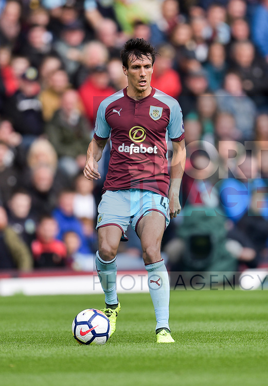 Burnley's Jack Cork during the premier league match at the Turf Moor Stadium, Burnley. Picture date 10th September 2017. Picture credit should read: Paul Burrows/Sportimage