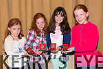 Grace O'Donnell, Aoife O'Rourke, Holly Smith, Roise O'Donnell at the Harriers Gala Dinner Awards Night in the Manor West Hotel on Friday