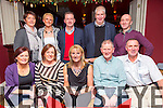 Pat Sheehy's Runners enjoying a festive night out at O'Donnells bar on Saturday .  Front l-r Ann McGlynn, Mary Ross, Maggie Carolan, Paudie Dineen, Pat Sheehy.  Back l-r Mary Dillane, Cathy Quilter, Tom Breen, Dermot Dillane, Kieran Beehan