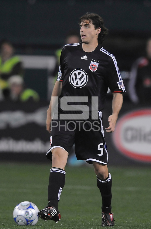 DC United defender Dejan Jakovic (5)  Chicago Fire tied DC United  1-1 at  RFK Stadium, Saturday March 28, 2009.