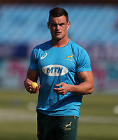 PRETORIA, SOUTH AFRICA - OCTOBER 06: Jesse Kriel of South Africa during the Rugby Championship match between South Africa Springboks and New Zealand All Blacks at Loftus Versfeld Stadium. on October 6, 2018 in Pretoria, South Africa. Photo: Steve Haag / stevehaagsports.com