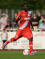 Fussball 1. Bundesliga:  Saison  Vorbereitung 2012/2013     Testspiel: Bayer 04 Leverkusen - FC Augsburg  25.07.2012 Gibril Sankoh (FC Augsburg)