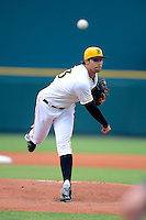 Bradenton Marauders pitcher Matt Benedict #23 during a game against the St. Lucie Mets on April 12, 2013 at McKechnie Field in Bradenton, Florida.  St. Lucie defeated Bradenton 6-5 in 12 innings.  (Mike Janes/Four Seam Images)