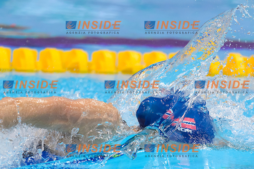 Marte LOEVBERG NOR <br /> 100m Freestyle Women preliminary <br /> London, Queen Elizabeth II Olympic Park Pool <br /> LEN 2016 European Aquatics Elite Championships <br /> Swimming<br /> Day 09 17-05-2016<br /> Photo Andrea Staccioli/Deepbluemedia/Insidefoto