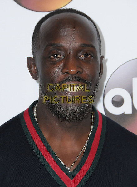 10 January 2017 - Pasadena, California - Michael Kenneth Williams. Disney ABC Television Group TCA Winter Press Tour 2017 held at the Langham Huntington Hotel. <br /> CAP/ADM/BT<br /> &copy;BT/ADM/Capital Pictures