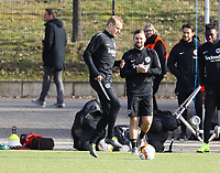 Sebastian Rode (Eintracht Frankfurt), Marc Stendera (Eintracht Frankfurt) - 20.02.2019: Eintracht Frankfurt Training, UEFA Europa League, Commerzbank Arena, DISCLAIMER: DFL regulations prohibit any use of photographs as image sequences and/or quasi-video.