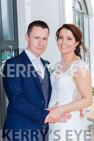Bridget O'Mahony, Scartaglen, daughter of John and Mary and Paudie Daly, Tullig Castleisland son of Jerry and Marguerite who were married in Sat Mary's Cathedral Killarney on Saturday, Fr Kieran O'Brien officiated at the ceremony, best man was Padraig Howard, groomsmen were Aaron Nolan, Neil Bergen, and Declan O'Mahony, bridemaids were Norma Lenihan, Serena Kennedy, and Úna Lynch, flowergirls were Lisa Daly, Alicia O'Connor, pageboys were  Gary Daly and Aaron O'Connor, the reception was held in the Killarney Oaks Hotel the couple will reside in London
