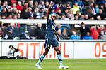 Nederland, Heerenveen, 6 mei 2012.Seizoen 2011/2012.Eredivisie.Heerenveen-Feyenoord 2-3.Sekou Cisse van Feyenoord juicht na het scoren van de 1-2