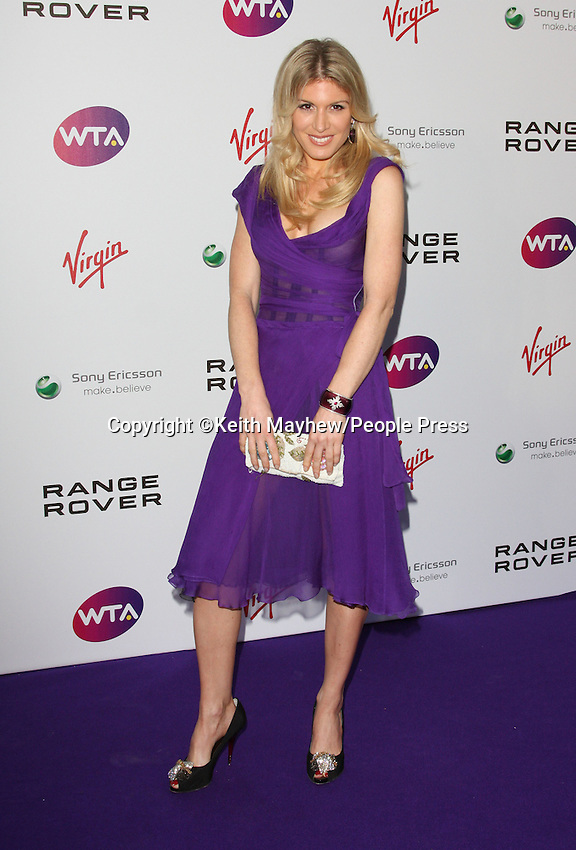London - Pre-Wimbledon Party held at Kensington Roof Gardens, London June 16th 2011..Photo by Keith Mayhew