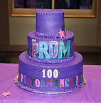 """The cast of Broadway's """"The Prom"""" Celebrates 100 Performances at the Longacre Theatre on February 13, 2019 in New York City."""