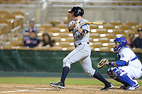 Peoria Javelinas third baseman Patrick Kivlehan (36), of the Seattle Mariners organization, during an Arizona Fall League game against the Glendale Desert Dogs on October 14, 2013 at Camelback Ranch Stadium in Glendale, Arizona.  Glendale defeated Peoria 5-1.  (Mike Janes/Four Seam Images)