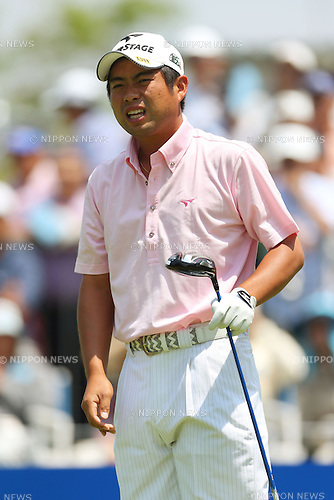 Yuta Ikeda (JPN), .May 16, 2013 - Golf : .PGA Championship Nissin Cup Noodles Cup 2013, 1st Round .at Sobu Country Club, Chiba, Japan. .(Photo by Daiju Kitamura/AFLO SPORT)