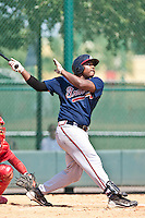 William Beckwith of the Gulf Coast League Braves during the game against the Gulf Coast League Phillies July 10 2010 at the Disney Wide World of Sports in Orlando, Florida.  Photo By Scott Jontes/Four Seam Images