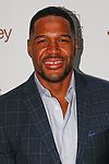 Michael Strahan arrives at the Jacques Penné - JCPenney Holiday Boutique Pop-Up Shop opening at 446 Broadway in New York City, on December 7, 2017.