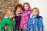 Saoirse, Maria, Katie and Jack Keenan, Ballyfinnane, enjoying the Tralee Circus Festival at Siamsa Tire Theatre, Tralee on Saturday afternoon last.