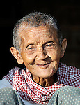 Prum Yean lives in the Cambodian village of Talom.
