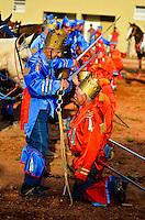 SÃO LUIZ DO PARAITINGA, SP, 07.06.2014 - FESTA DO DIVINO DE SÃO LUIZ DO PARAITINGA - Apresentação de Cavalhada  durante Festa do Divino de São Luiz do Paraitinga, realizado neste final de semana. (Foto: Levi Bianco / Brazil Photo Press).