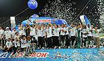 Nacional  gano  por tiros de punto penal  a la equidad y asi se corono campeon del torneo apertura del futbol colombiano.. 2011