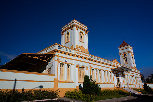 Araxa_MG, Brasil...Antiga Estacao de Trem de Araxa...The ancient railroad depot in Araxa...Foto: LEO DRUMOND / NITRO