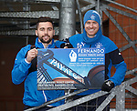 Darren McGregor and Stevie Smith looking ahead to Sunday's Fernando Ricksen match at Ibrox