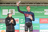Picture by Alex Whitehead/SWpix.com - 06/09/2017 - Cycling - OVO Energy Tour of Britain - Stage 4, Mansfield to Newark-on-Trent - JLT Condor's Alistair Slater takes the High5 Combativity Award.
