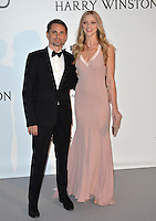 Musician Matt Belamy &amp; girlfriend model Elle Evans at the amfAR Cinema Against AIDS Gala 2016 at the Hotel du Cap d'Antibes.<br /> May 19, 2016  Antibes, France<br /> Picture: Paul Smith / Featureflash