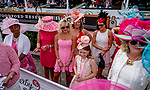 May 3, 2019 : Scenes from on Kentucky Oaks Day at Churchill Downs on May 3, 2019 in Louisville, Kentucky. Scott Serio/Eclipse Sportswire/CSM