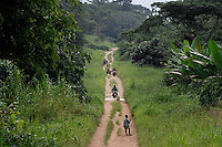 This is the Trans-African Highway.  The main east-west corridor through DR Congo.