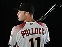 Arizona Diamondbacks AJ Pollock (11) during photo day on February 28, 2016 in Scottsdale, AZ.