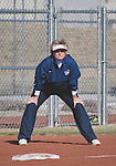 March 23, 2012:   Fresno State Bulldogs head coach Margie Wright against the Nevada Wolf Pack during their NCAA softball game played at Christina M. Hixson Softball Park on Friday in Reno, Nevada.