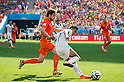 Daley Blind (NED), Alexis Sanchez (CHI), JUNE 23, 2014 - Football / Soccer : FIFA World Cup Brazil 2014 Group B match between Netherlands 2-0 Chile at Arena de Sao Paulo Stadium in Sao Paulo, Brazil. (Photo by Maurizio Borsari/AFLO)