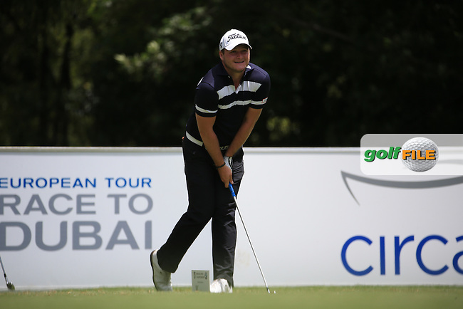 Zander Lombard (RSA) in action during Round Three of the 2016 BMW SA Open hosted by City of Ekurhuleni, played at the Glendower Golf Club, Gauteng, Johannesburg, South Africa.  09/01/2016. Picture: Golffile | David Lloyd<br /> <br /> All photos usage must carry mandatory copyright credit (&copy; Golffile | David Lloyd)