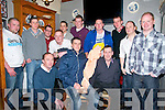 Stag Party : Michael O'Brien, Kilflynn centre front pictiured with his pals at his stag party at Herbert's Bar, Kilflynn on Saturday evening last. Front : Jimmy O'Sullivan, Michael O'Brien & John O'Sullivan. Back : John Barrett, Tom O'Brien, Denis O'Carroll, Danny Sparks, Patrick Vando, Michael Anthony, Derek Fealy, Brendan Mccarthy,  Steve Corner & Con Twomey.