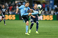 17th November 2019; Jubilee Oval, Sydney, New South Wales, Australia; A League Football, Sydney Football Club versus Melbourne Victory; Alex Wilkinson of Sydney clears the ball from danger