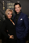 Orfeh and Andy Karl attends the 33rd Annual Lucille Lortel Awards on May 6, 2018 in New York City.