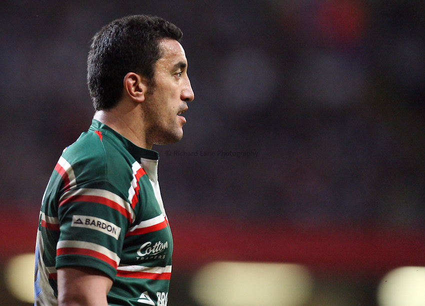 Photo: Rich Eaton...Cardiff Blues v Leicester Tigers. Heineken Cup. 29/10/2006. Daryl Gibson of Leicester Tigers