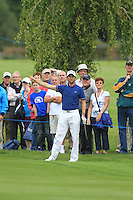Gregory Bourdy (FRA) on the 15th hole during Day 1 Thursday of The Irish Open presented by Discover Ireland at Killarney Golf & Fishing Club on 28th July 2011 (Photo Fran Caffrey/www.golffile.ie)