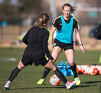 USWNT Training, February 12, 2016