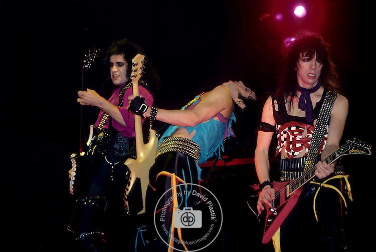 Gene Simmons , Vinnie Vincent & Paul Stanley of Kiss