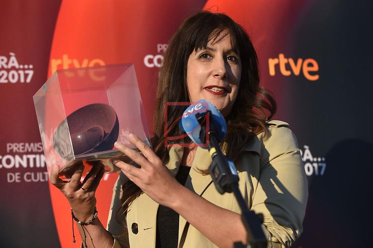 Premis Dol&ccedil;os Continuara de Cultura, Edicio 2017.<br /> Dolores Redondo.