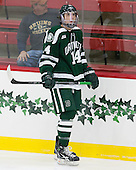 Grant Opperman (Dartmouth - 14) - The Harvard University Crimson tied the visiting Dartmouth College Big Green 3-3 in both team's first game of the season on Saturday, November 1, 2014, at Bright-Landry Hockey Center in Cambridge, Massachusetts.