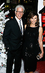 "HOLLYWOOD, CA. - November 20: Actors Ted Danson and Mary Steenburgen arrive at the World Premiere of ""Four Christmases"" held at the Grauman's Chinese Theatre on November 20, 2008 in Hollywood, California."