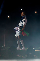 Real Madrid Cristiano Ronaldo during the celebration of the 12th UEFA Championship won by Real Madrid  at Santiago Bernabeu Stadium in Madrid, June 04, 2017. Spain.<br /> Foto ALTERPHOTOS/BorjaB.Hojas/Insidefoto